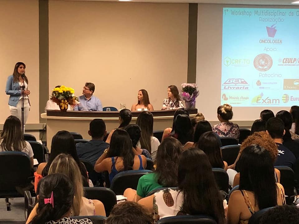 CRF/TO participa de abertura do 1º Workshop Multidiciplinar de Oncologia do CEULP ULBRA